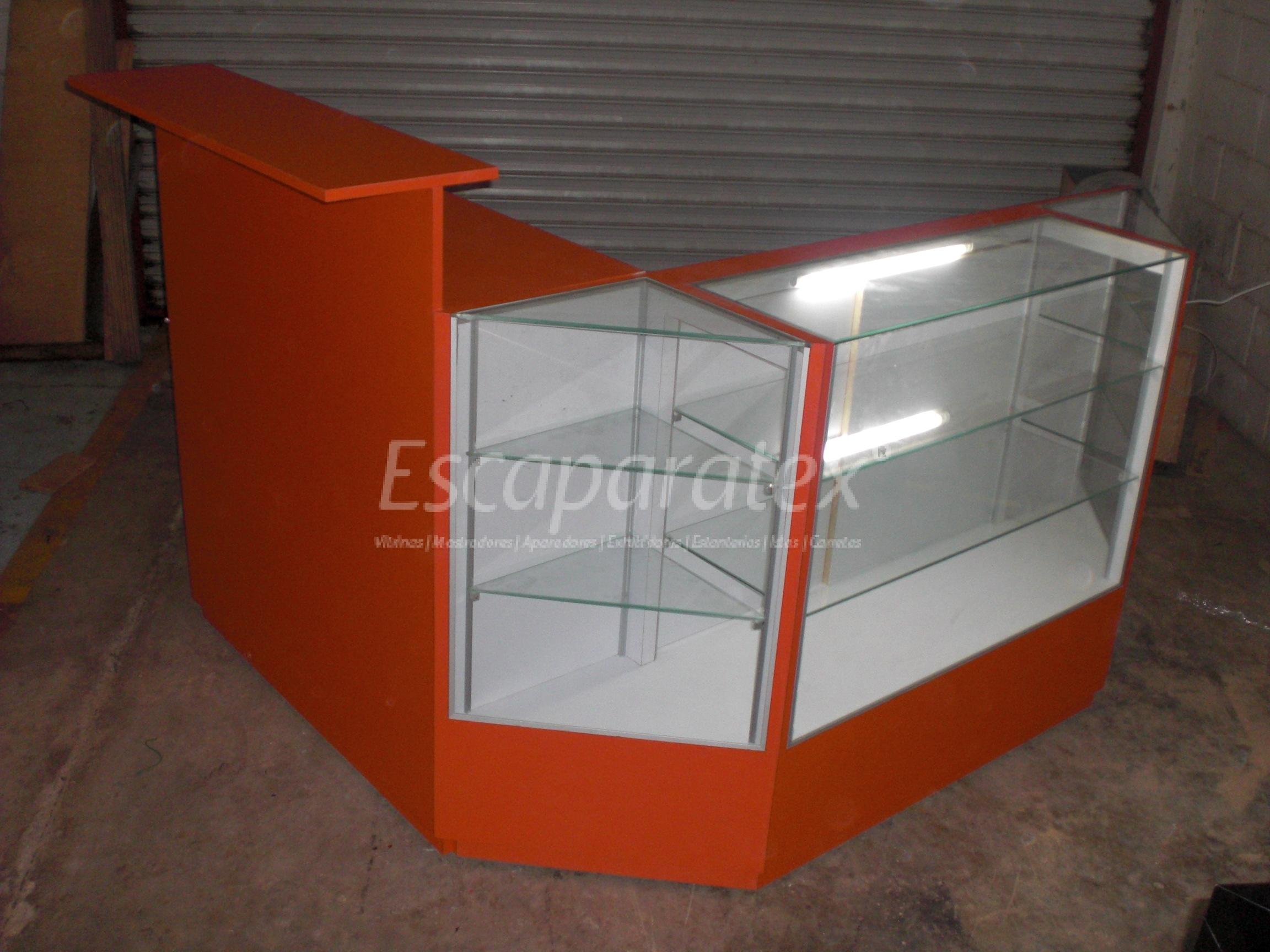 Vitrinas mostradores aparadores exhibidores - Disenos de mostradores ...