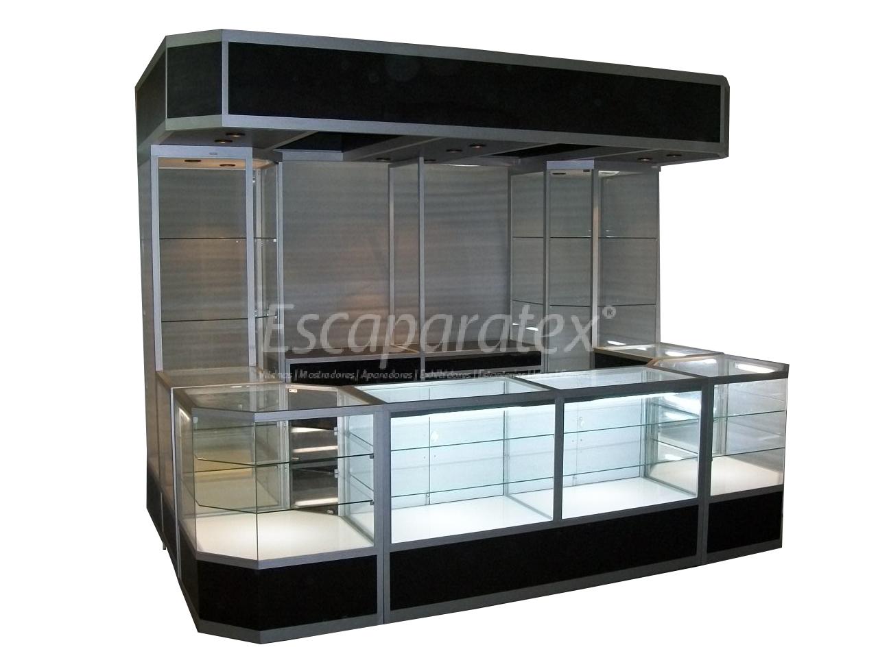 Islas kioscos archivos vitrinas mostradores for Diseno de kioscos en madera