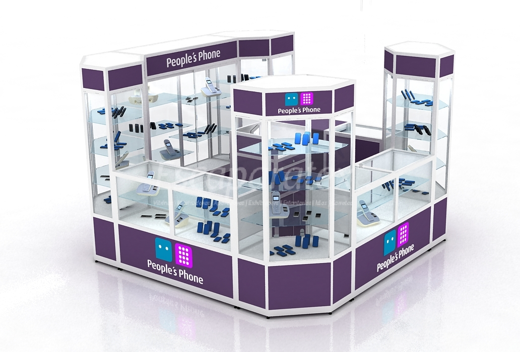 Vitrinas mostradores aparadores exhibidores for Disenos de kioscos