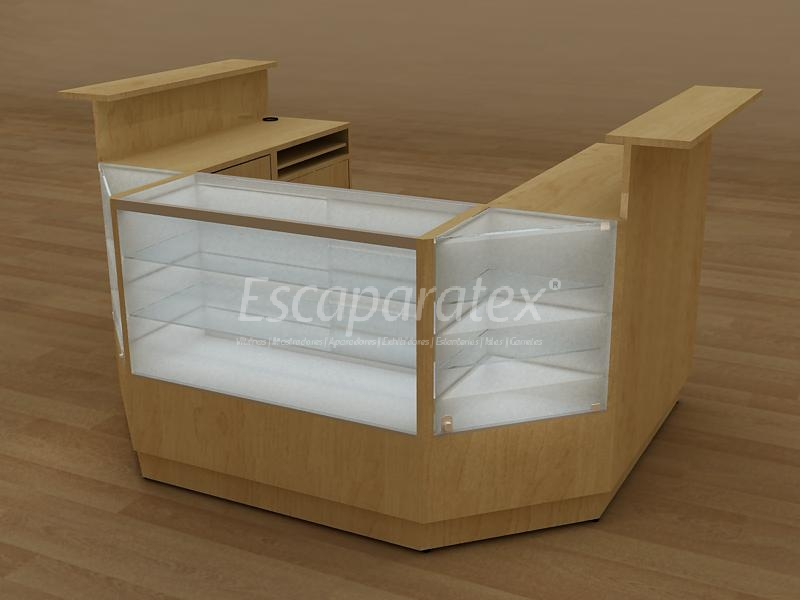 Mueble caja de cobro 20170905154853 - Disenos de mostradores ...