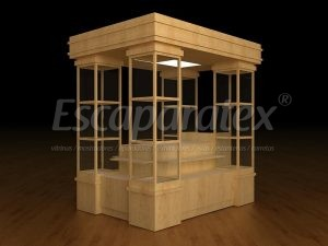 Podemos fabricar el kiosco para su franquicia